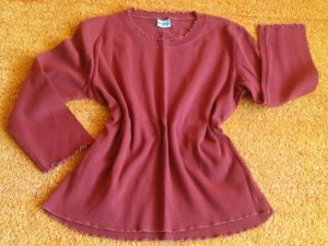 Angels Crewneck Sweater bordeaux cotton