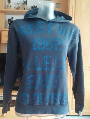 Tom Tailor Jersey con capucha azul-azul acero Algodón