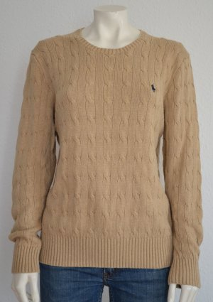 Polo Ralph Lauren Kraagloze sweater room Zijde