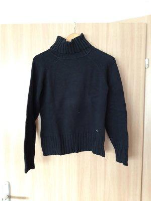 Damen Pullover Rollkragenpullover schwarz Yessica Größe S