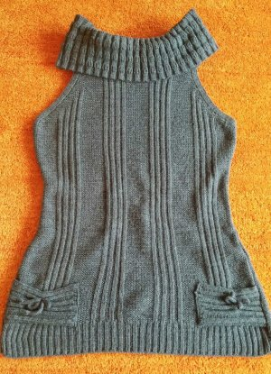 Damen Pullover Strick Kuschelig warm Figurbetont von ORSAY Gr.S in Grau TOP WOW
