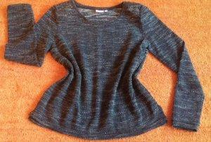 Damen Pullover strick mit Plätzchen Verzierung Gr. S in Mehrfarbig von Laura T. NW