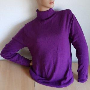 Damen Pullover Strickpulli Rollkragen Größe L