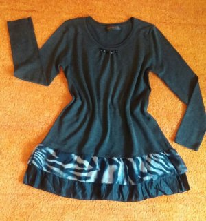 Tunic Dress black-silver-colored