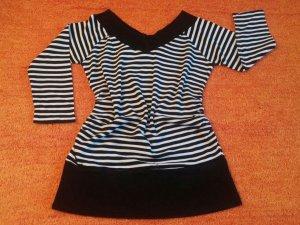 Damen Pullover Tunika Longshirt Gr.XL(M) gestreift von Madonna TOP