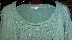 Laura Torelli Sweater Twin Set multicolored mixture fibre