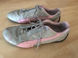 Damen Puma Turnschuhe Schuhe Rosa Grau Gr 41