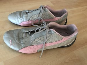 Damen Puma Turnschuhe Schuhe Rosa Grau Gr 41 gebraucht