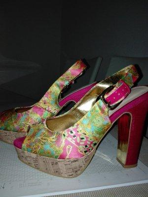 Damen Pumps .Gold- pink Farbe ,von Sommerkind.