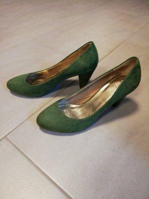 Damen Pumps grün, Zara Größe 39,