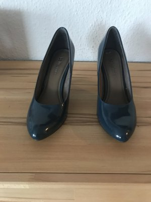 Damen Pumps in Petrol
