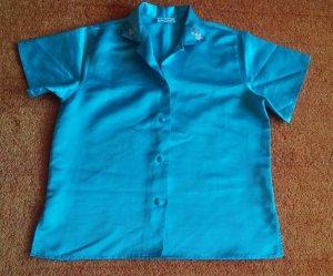 Conjunto de lencería azul claro Poliéster