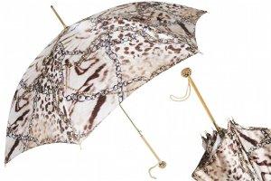 Damen Regenschirm Pasotti (mit Swarovski® Elemente) Made in Italy Neu!