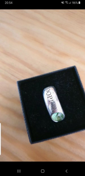 Joop! Silver Ring silver-colored-green