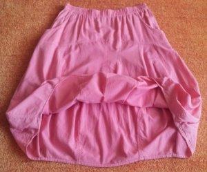 Kekoo Ballonrok neonroos-roze Katoen