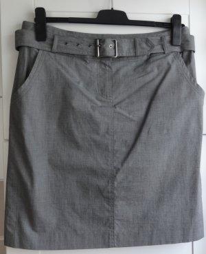 Daniel Hechter Jeans Asymmetrische rok grijs