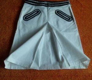 Damen Rock Jeans Rock Gr.S in Weiß/Blau von Moschino NW
