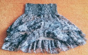 Madonna Miniskirt multicolored polyester