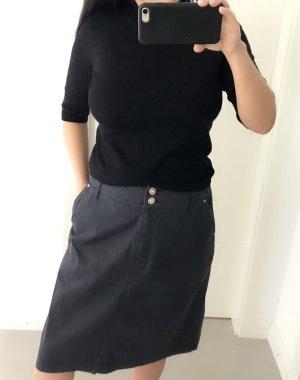 Steve Ketell Asymmetry Skirt dark grey-black
