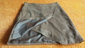 Yessica Wraparound Skirt grey brown polyester