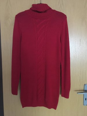 Damen Rollkragen Kleid / Long Pullover