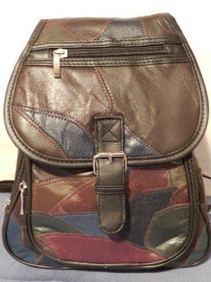 Damen Rucksack - Schultertasche -Citytrucksack - Patchwork Optik - neu