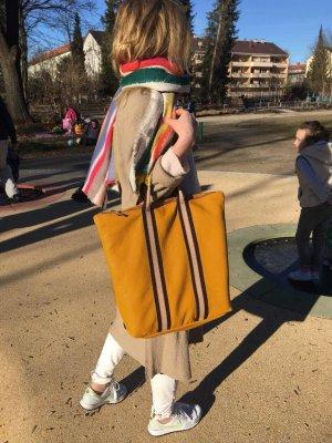Damen Rucksack Tragerücksack Leder CAMEL Handtasche neu 2 in 1