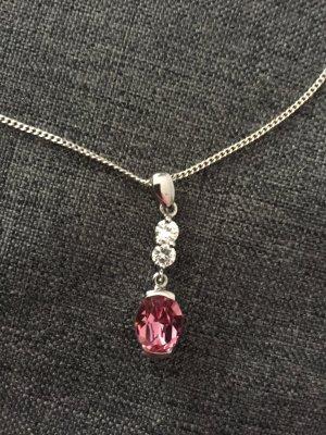 Damen S.Oliver Kette Swarovski Elements 925 er Silber Neu