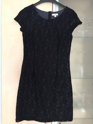Damen S.Oliver Spitzen Kleid Gr 36 schwarz wie Neu