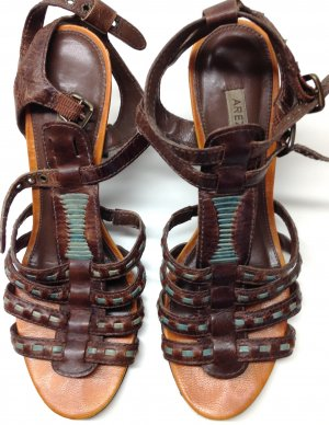 Roman Sandals multicolored leather