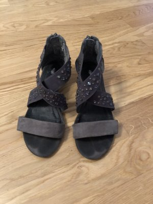 Damen Sandalen grau