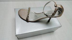 Avance Creation Sandalen met bandjes beige Textielvezel