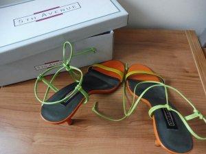 5th Avenue High Heel Sandal multicolored leather