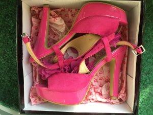 Damen Sandaletten pink gr37