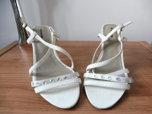 Damen Sandaletten weiß