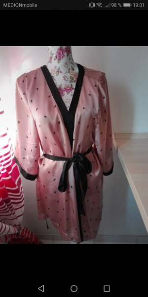 H&M Kimono black-rose-gold-coloured