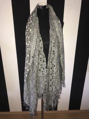 Vero Moda Bufanda blanco-negro