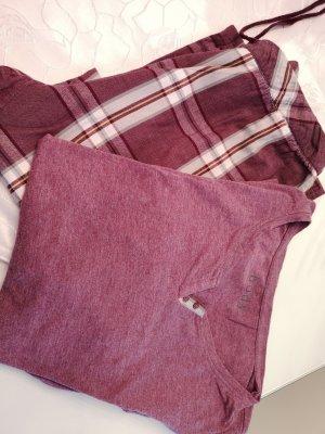 Pyjama gris lilas