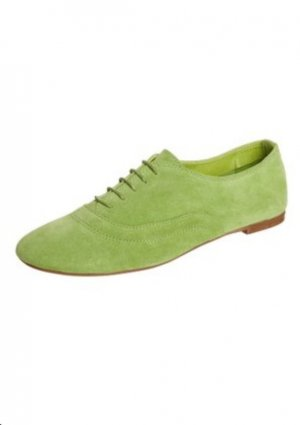 Pier one Lace Shoes grass green leather