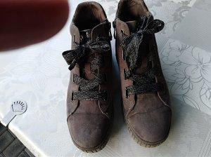Marco Tozzi Sneaker stringata marrone scuro