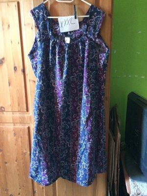 Peplum Dress blue