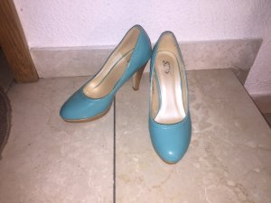Graceland Heel Pantolettes light blue