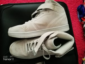 & other stories High Top Sneaker silver-colored
