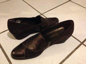 Damen-Schuhe aus Leder - in Italien hergestellt