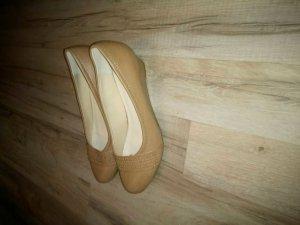 Damen Schuhe beige Größe 40