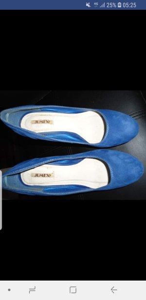 Jumex High Heels blue-steel blue