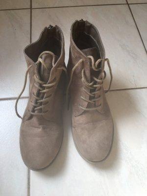 Primark Korte laarzen grijs-bruin