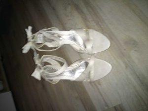 Jumelles High Heel Sandal cream