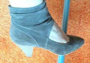 Damen Schuhe Samt Leder Pumps Gr.38 in Karamell/Braun von Tamaris