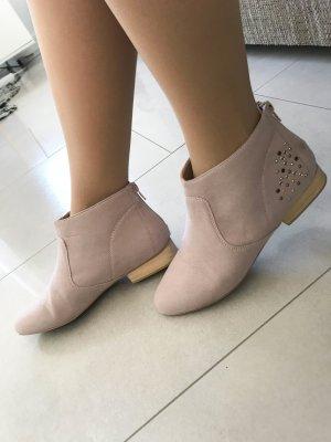 Damen Schuhe Stiefelette von heine 36 Rosa
